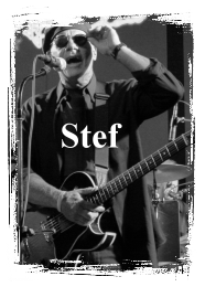Stefan Graf: Guitar & vocals